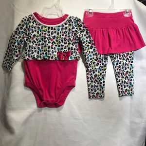 Cheetah Print Pink Matching Set